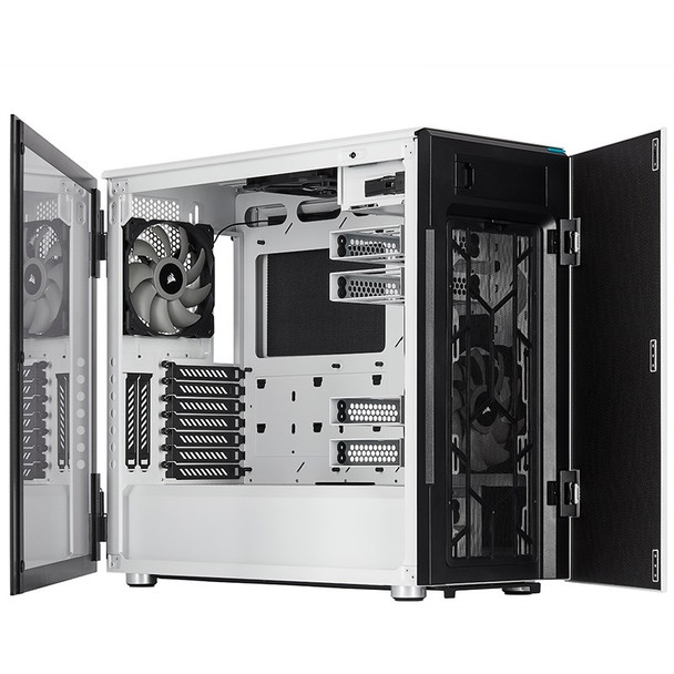 Corsair Carbide Series 678C Tempered Glass White Product Image 9