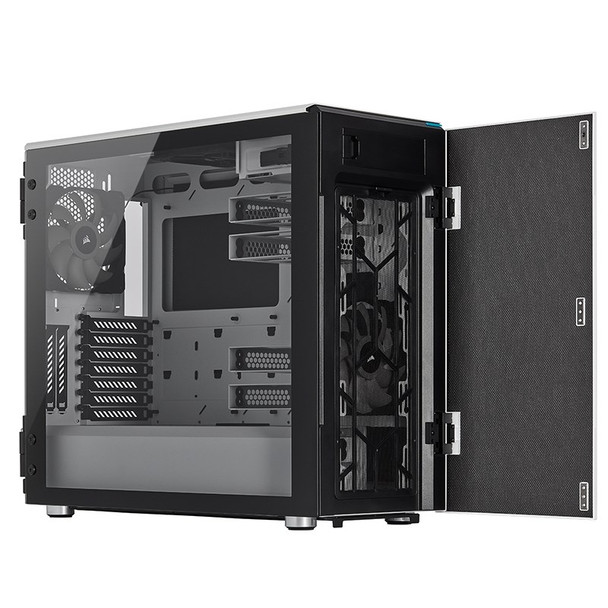 Corsair Carbide Series 678C Tempered Glass White Product Image 10