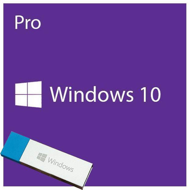 Product image for Microsoft Windows 10 Professional with Creators Update 32/64-bit USB Drive | AusPCMarket Australia
