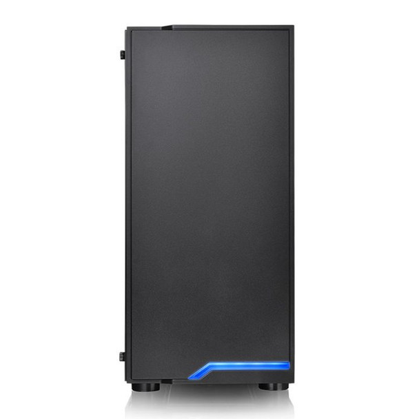 Thermaltake H100 Tempered Glass Mid Tower Chassis Black Product Image 3