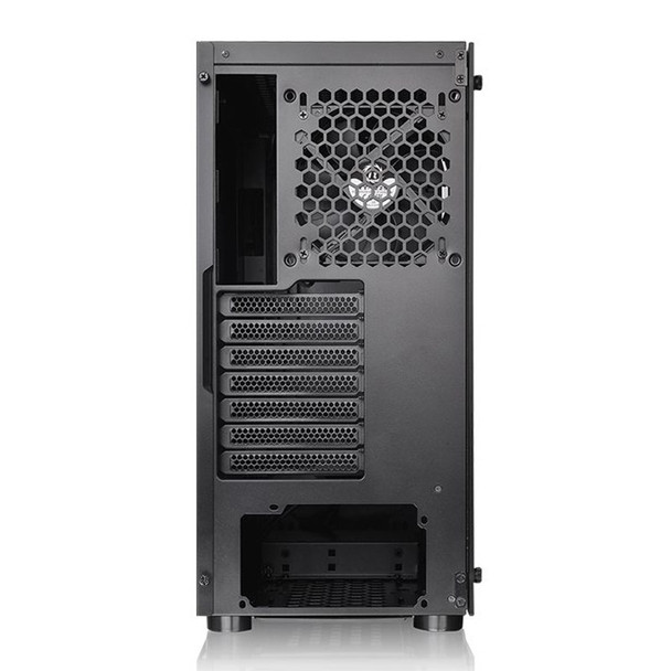Thermaltake H100 Tempered Glass Mid Tower Chassis Black Product Image 4