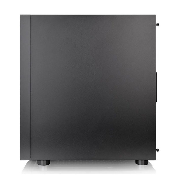 Thermaltake H100 Tempered Glass Mid Tower Chassis Black Product Image 5