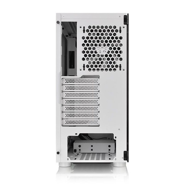 Thermaltake H200 RGB Tempered Glass Mid Tower Chassis White Product Image 4