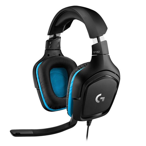 Product image for Logitech G432 7.1 Gaming Headset   AusPCMarket Australia