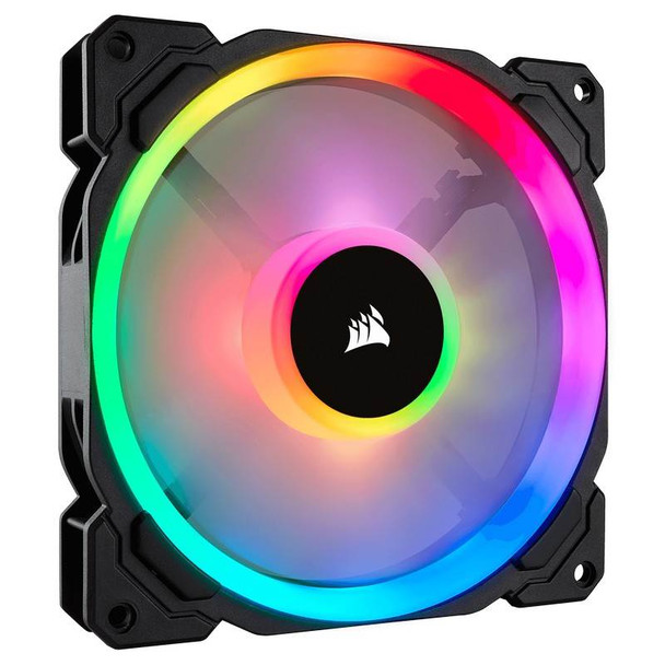 Product image for Corsair LL140 RGB 140mm Independent RGB PWM Fan | AusPCMarket Australia
