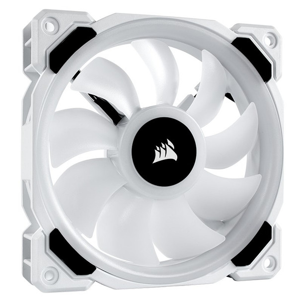 Corsair LL120 RGB 120mm Independent RGB PWM Fan White Product Image 3