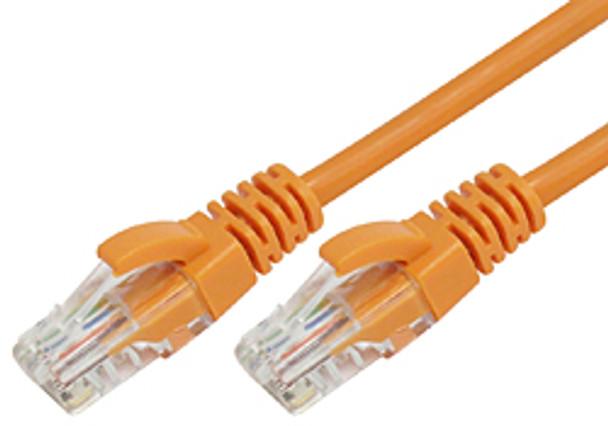 Product image for Comsol 10m RJ45 Cat 6 Patch Cable - Orange | AusPCMarket Australia