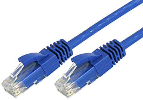 Product image for Comsol 0.5m 10GbE Cat 6A UTP Snagless Patch Cable LSZH (Low Smoke Zero Halogen) - Blue | AusPCMarket Australia