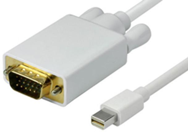 Product image for Comsol 1m Mini DisplayPort Male to VGA Male Cable   AusPCMarket Australia