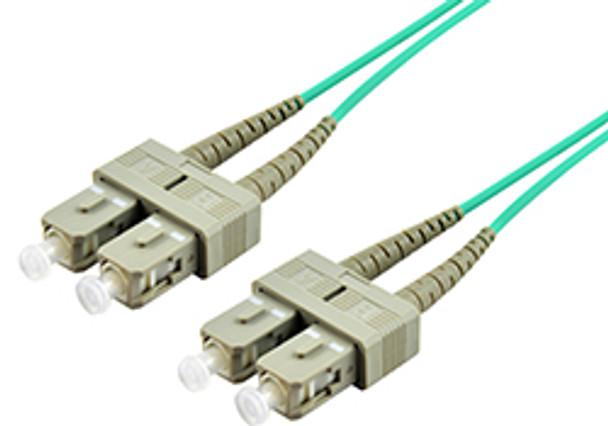 Product image for Comsol 15m SC-SC Multi-Mode Duplex Fibre Patch Cable LSZH 50/125 OM3   AusPCMarket.com.au