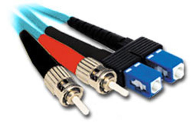 Product image for Comsol 15m ST-SC Multi-Mode Duplex Fibre Patch Cable LSZH 50/125 OM3 | AusPCMarket.com.au