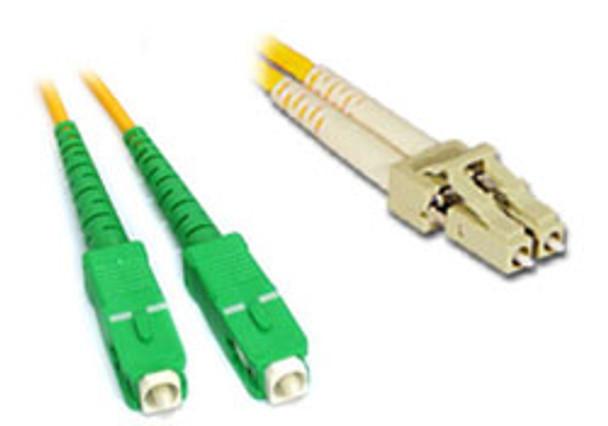 Product image for Comsol 1m SCA-LC Single-Mode Duplex Fibre Patch Cable LSZH 9/125 OS2 | AusPCMarket Australia