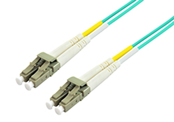 Product image for Comsol 10m LC-LC Multi-Mode Duplex Fibre Patch Cable LSZH 50/125 OM4 | AusPCMarket Australia