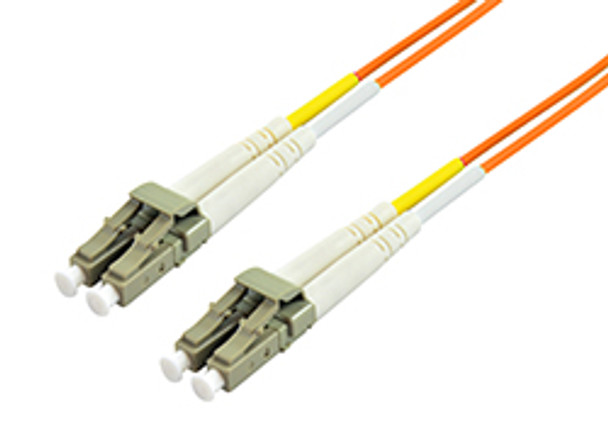Image for Comsol 10m LC-LC Multi-Mode Duplex Fibre Patch Cable LSZH 62.5/125 OM1