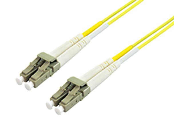 Product image for Comsol 10m LC-LC Single-Mode Duplex Fibre Patch Cable LSZH 9/125 OS2 | AusPCMarket Australia