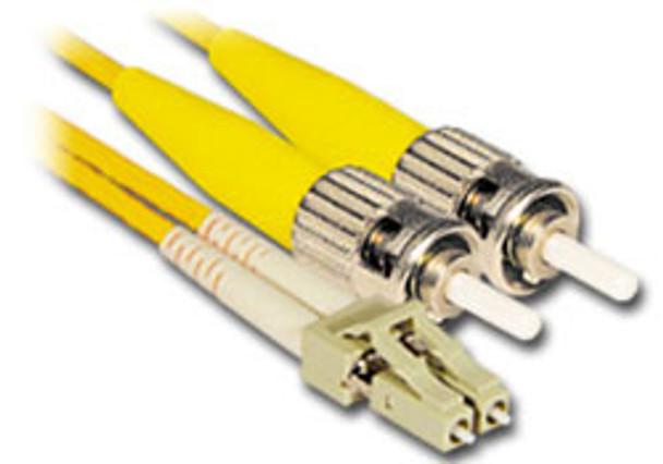 Product image for Comsol 10m LC-ST Single-Mode Duplex Fibre Patch Cable LSZH 9/125 OS2   AusPCMarket Australia
