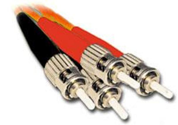 Product image for Comsol 1m ST-ST Multi-Mode Duplex Fibre Patch Cable LSZH 62.5/125 OM1   AusPCMarket Australia