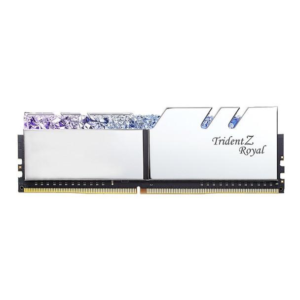 G.Skill Trident Z RGB Royal 32GB (2x 16GB) DDR4 CL16 3200MHz Memory - Silver Product Image 5