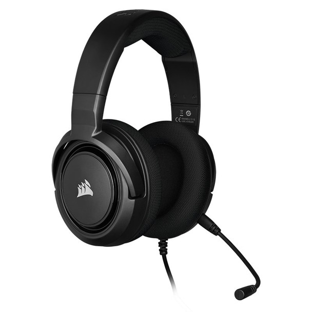 Corsair HS35 Stereo Gaming Headset Carbon Product Image 5