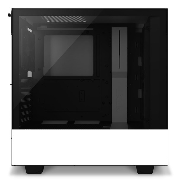 NZXT H510 Elite RGB Mid Tower Case Matte White Product Image 2