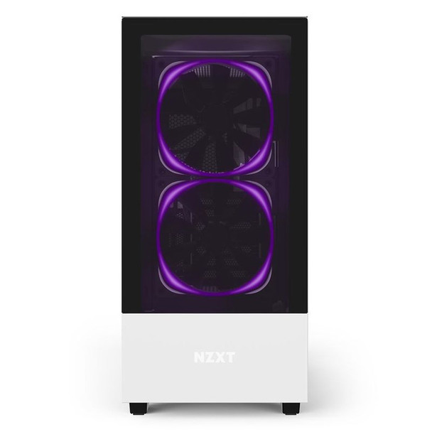 NZXT H510 Elite RGB Mid Tower Case Matte White Product Image 3