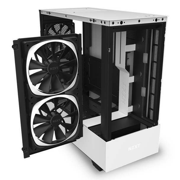 NZXT H510 Elite RGB Mid Tower Case Matte White Product Image 5
