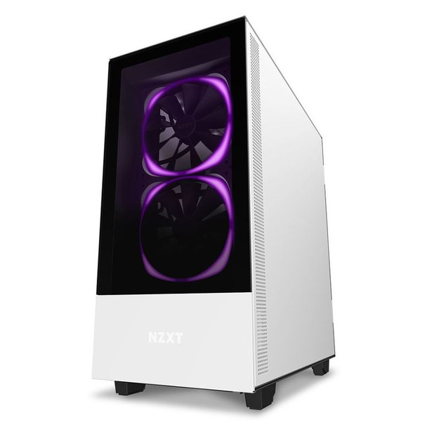 NZXT H510 Elite RGB Mid Tower Case Matte White Product Image 6