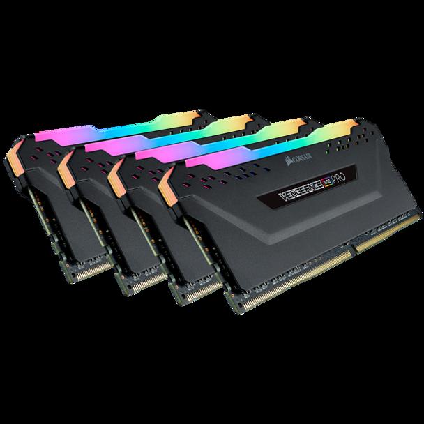 Product image for Corsair Vengeance RGB Pro 32GB (4x8GB) DDR4   AusPCMarket Australia