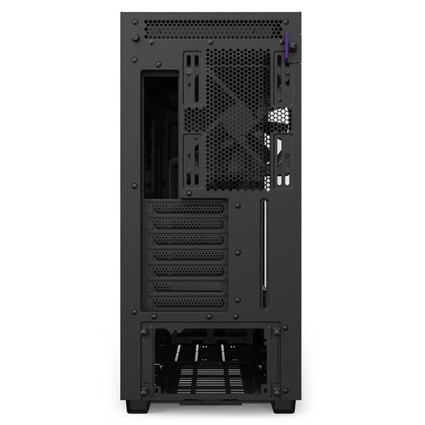 NZXT H710 Tempered Glass Mid-Tower E-ATX Case - Matte White Product Image 4