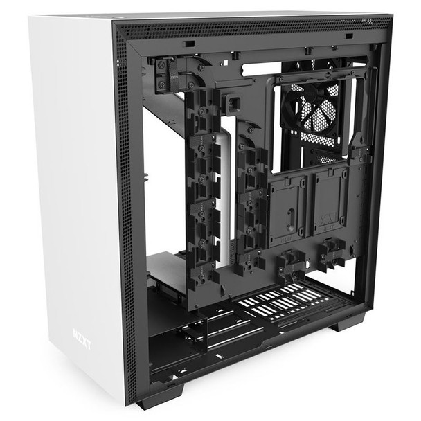 NZXT H710 Tempered Glass Mid-Tower E-ATX Case - Matte White Product Image 8