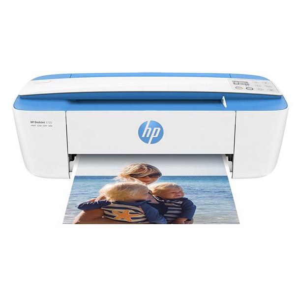 Product image for HP DeskJet 3720 Multifunction Wireless Printer (Electric Blue) | AusPCMarket Australia