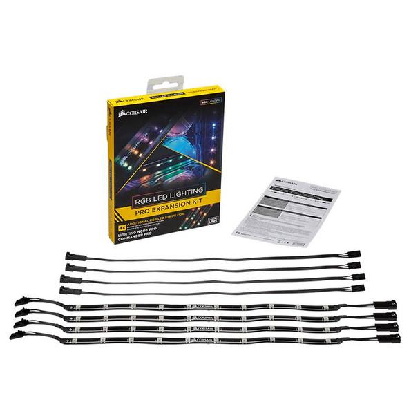 Corsair RGB LED Lighting PRO Expansion Kit for Commander Pro/Lighting Node Pro Product Image 2