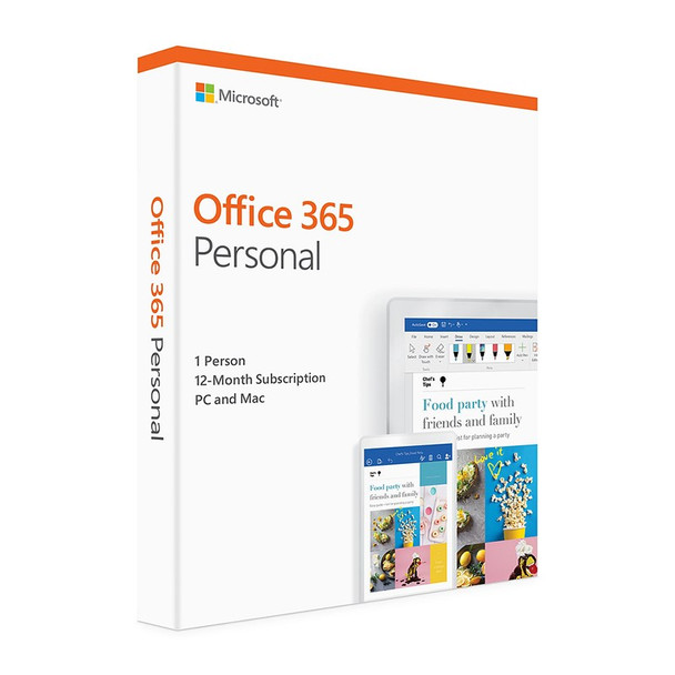 Product image for Microsoft Office 365 2019 Personal 1 Year Licence - Medialess Retail | AusPCMarket Australia