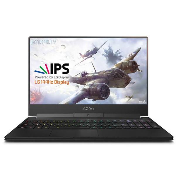 Product image for Gigabyte Aero 15 15.6in 144Hz Gaming Laptop i7-9750H 16GB 512GB GTX1660 Ti W10H | AusPCMarket Australia