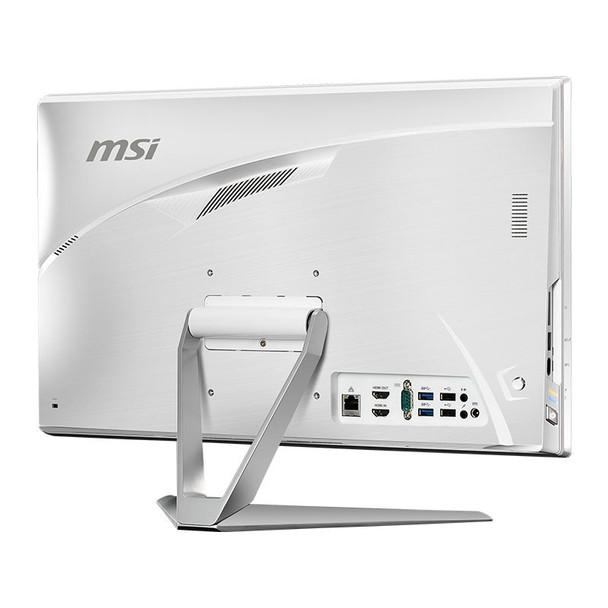 MSI Pro 22XT 9M 21.5in All-in-One Desktop PC i3-9100 8GB 512GB Win10P - White Product Image 8