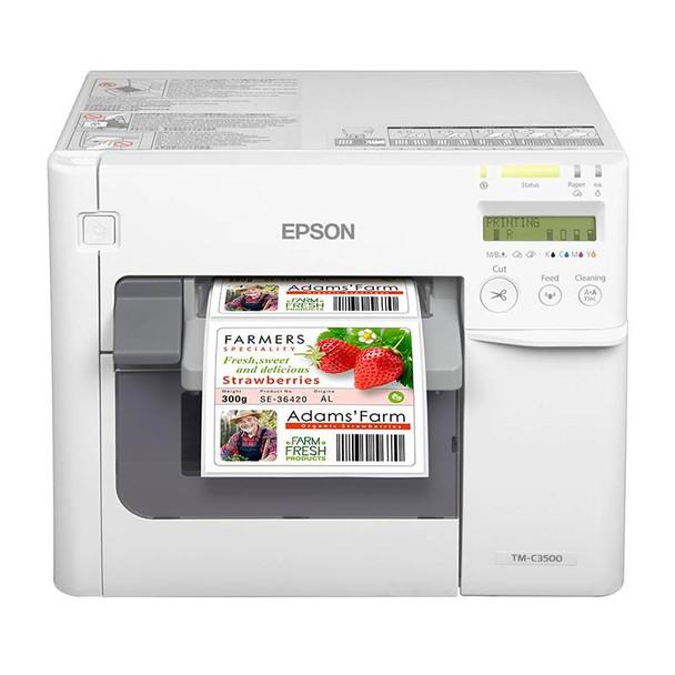 Image for Epson ColorWorks C3500 Colour Label Inkjet Printer AusPCMarket
