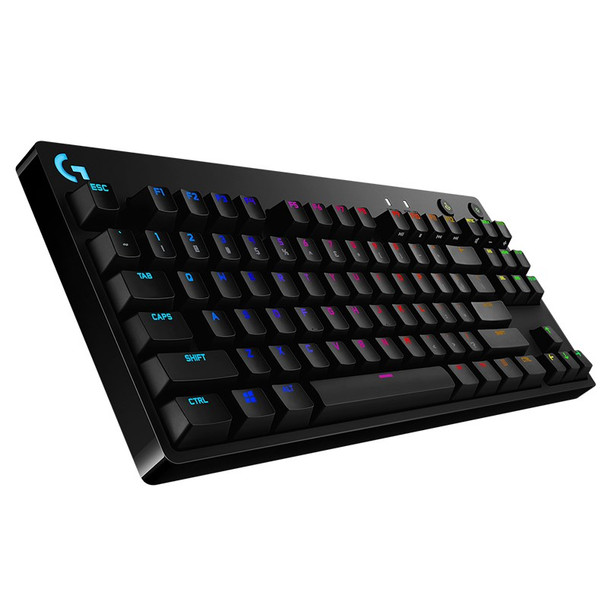 Image for Logitech G Pro X TKL Modular Mechanical Gaming Keyboard - GX Blue Clicky AusPCMarket