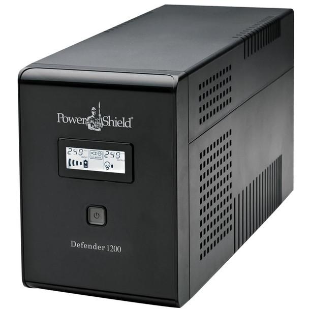 Image for PowerShield Defender Line Interactive UPS 1200VA 720W AVR Australian Outlets AusPCMarket