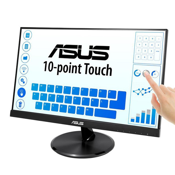 Asus VT229H 21.5in Full HD 10 Point Multi-Touch IPS Monitor Product Image 4