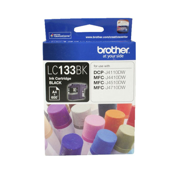 Image for Brother LC133 Black Ink Cart up to 600 pages Black AusPCMarket