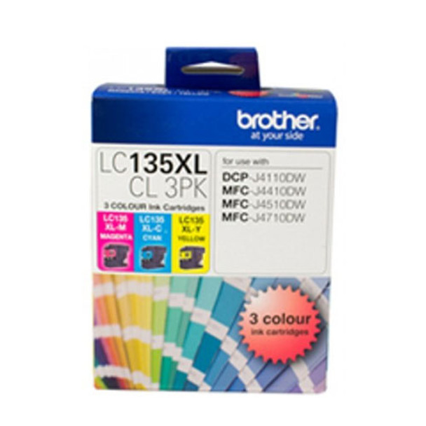 Image for Brother LC135XL Cyan Ink Cart up to 1200 pages Cyan AusPCMarket
