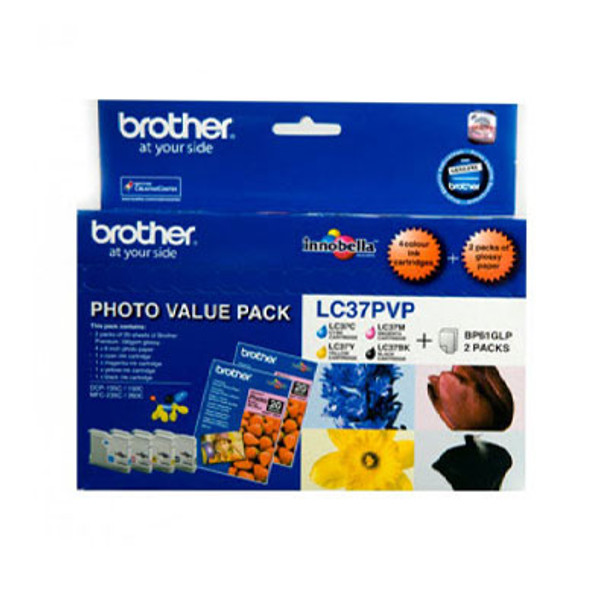 Image for Brother LC37 CMY Colour Pack 300 pages each Colour AusPCMarket