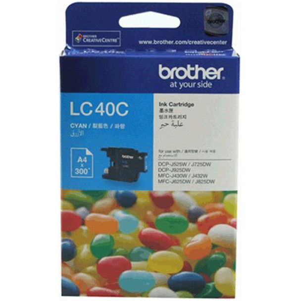 Image for Brother LC40C Cyan Ink Cartridge For Brother DCP / MFC AusPCMarket