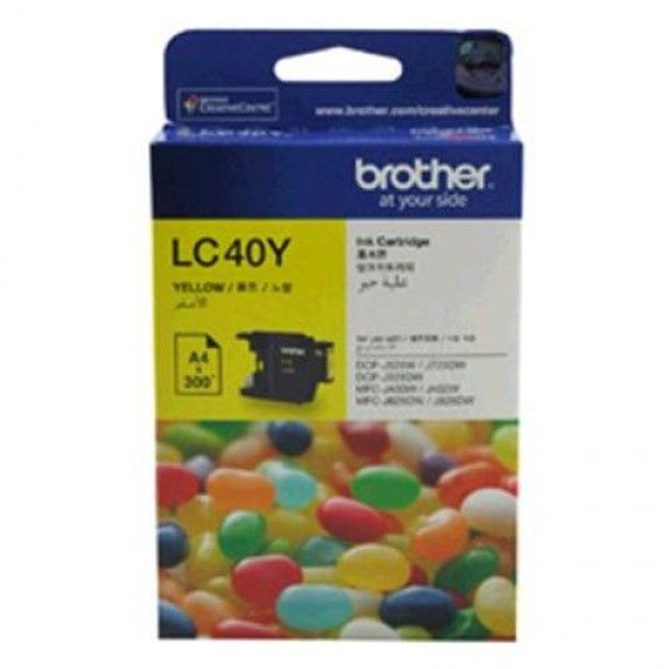 Image for Brother LC40Y Yellow Ink Cartridge For Brother DCP/MFC AusPCMarket