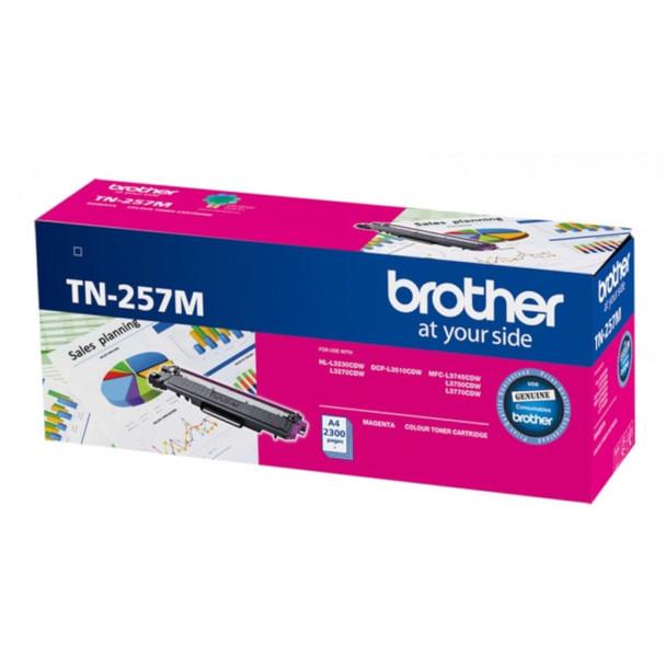 Image for Brother TN-257M Magenta High Yield Toner Cartridge AusPCMarket