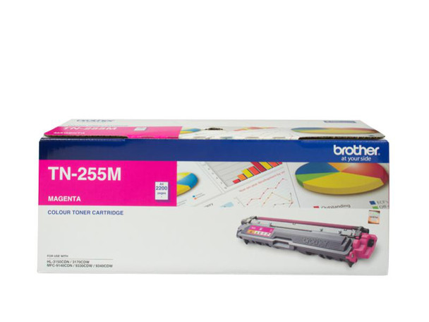 Image for Brother TN-255M High Yield Magenta Toner - Up to 2,200 Pages AusPCMarket