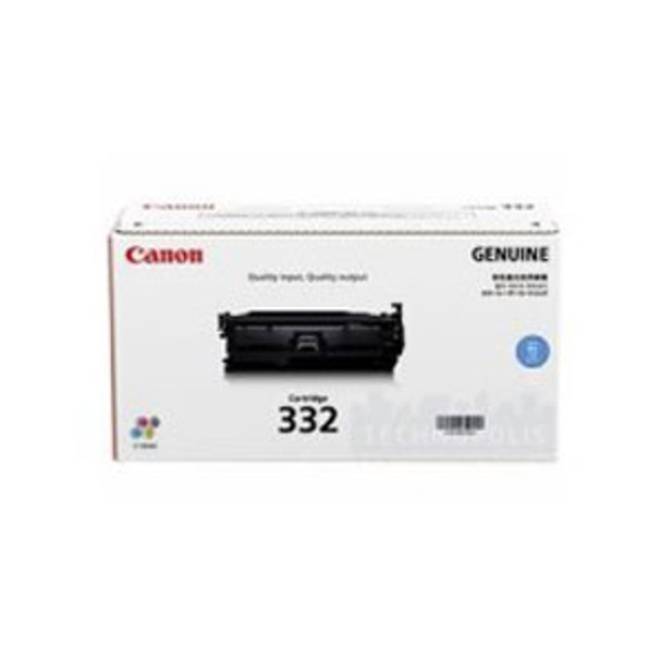 Image for Canon 332 Cyan Toner Cartridge  6,400 pages Cyan AusPCMarket