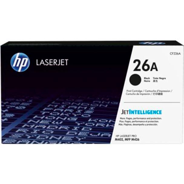 Image for HP 26A Black Original LaserJet Toner Cartridge (CF226A) AusPCMarket