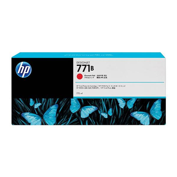 Image for HP771B 775ML Ink Cartridge - Chromatic Red (B6Y00A) AusPCMarket