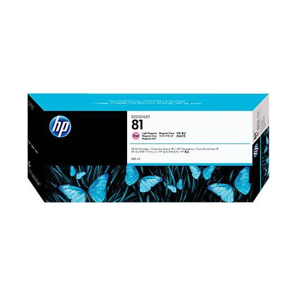 Image for HP 81 Light Magenta Dye 680ml Ink Cartridge (C4935A) AusPCMarket